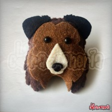 Broche Pastor Collie en Fieltro