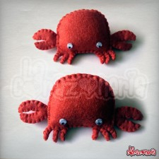 Broche Logotipo Crab Step